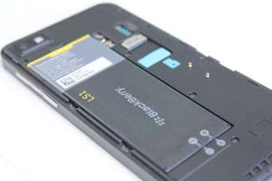 BlackBerry 10 battery