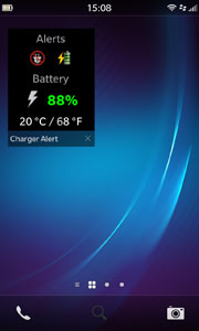 Charger Alert - Active Frame Screenshot